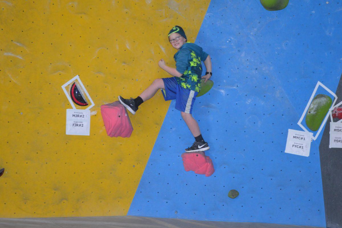 Jackson's Climbing Gym Birthday Party
