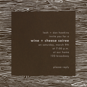 A Casual Wine and Cheese Soiree