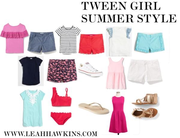 Tween Summer Style