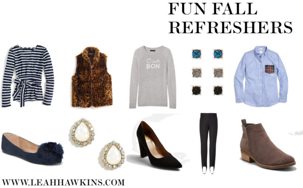Fun Fall Refreshers