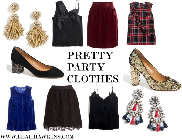 Pretty Party Clothes