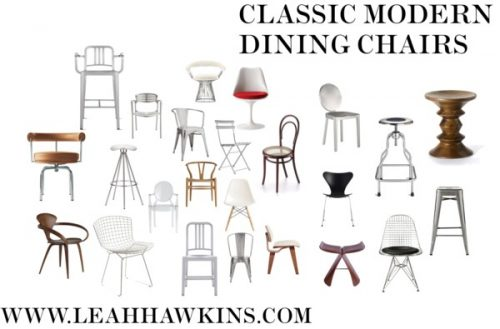 Classic Modern Dining Chairs