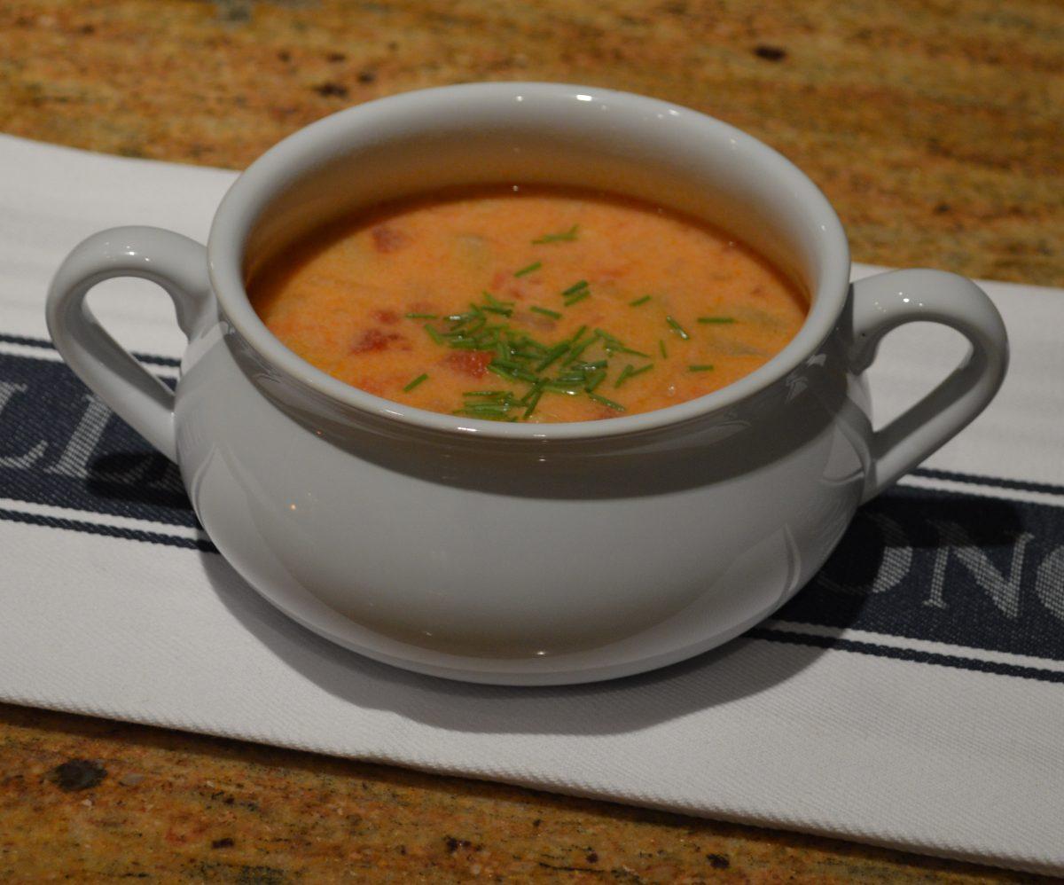 Tomato Artichoke Bisque