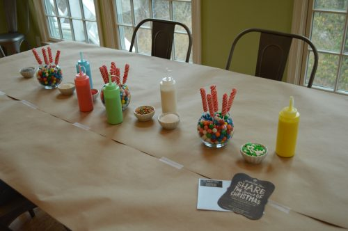 Cookie Party Table