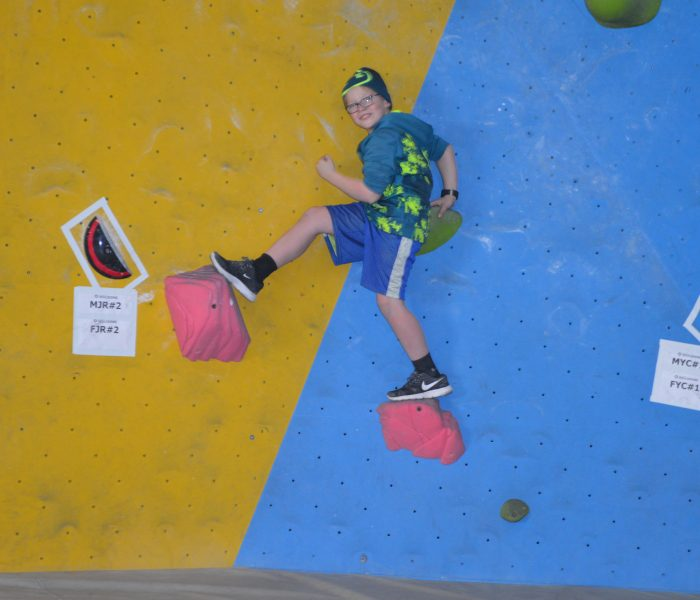 Jackson's Climbing Gym Birthday Party