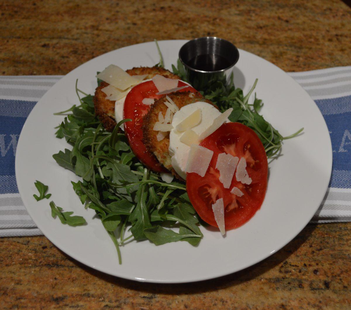 Eggplant Caprese Salad