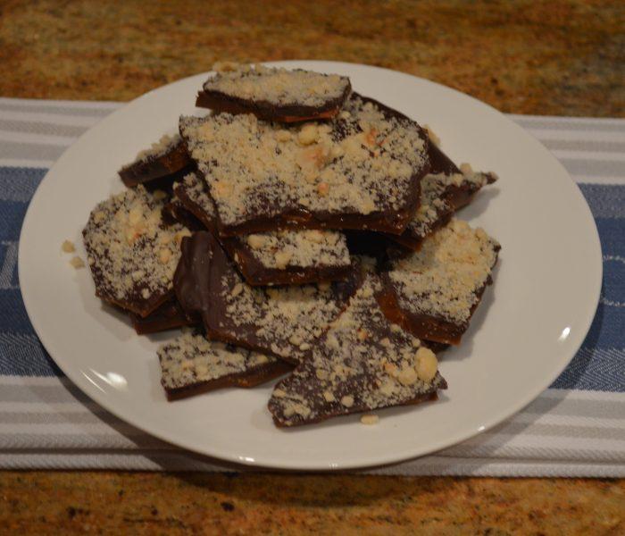Hazelnut Chocolate Toffee