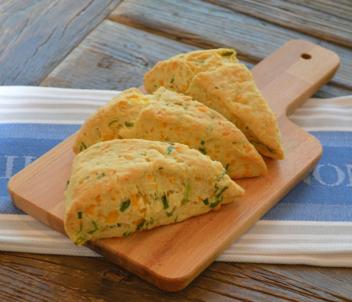 Cheddar Chive Scones