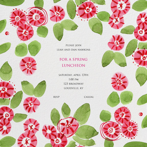 A Spring Luncheon