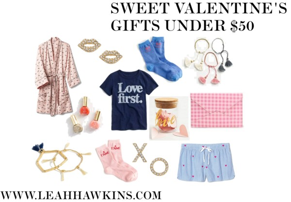 Sweet Valentine's Gifts Under $50