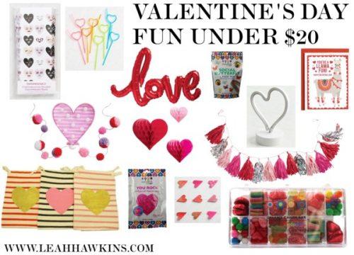 Valentine's Fun Under $20