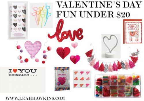 Valentine's Day Fun Under $20