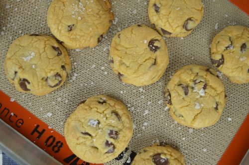 Salted Chocolate Chip Cookies 3