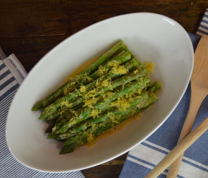 Lemon Marinated Asparagus