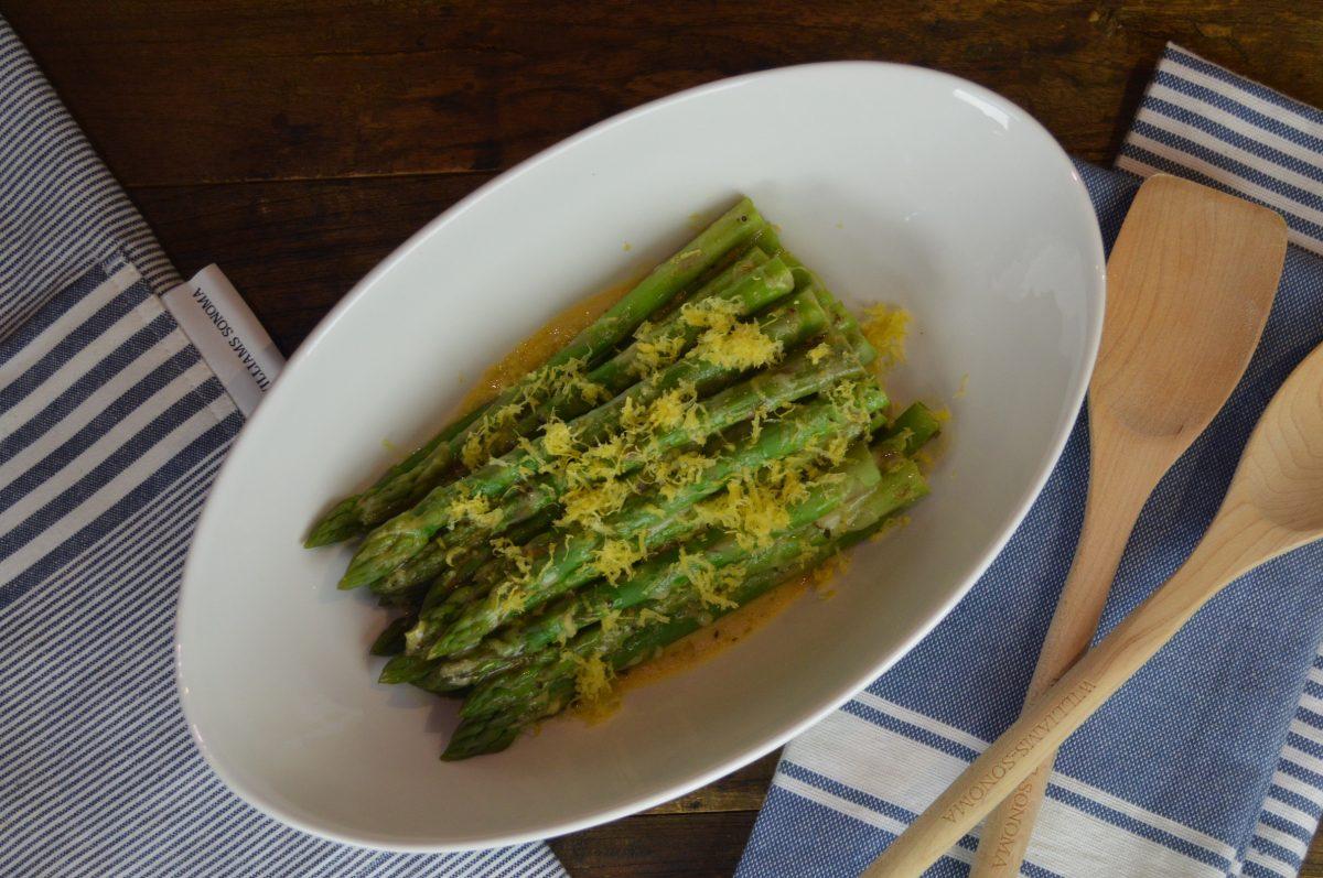 Lemon Marinated Asparagus