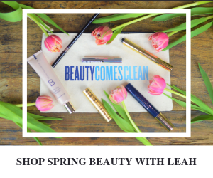 Shop Spring Beauty with Leah