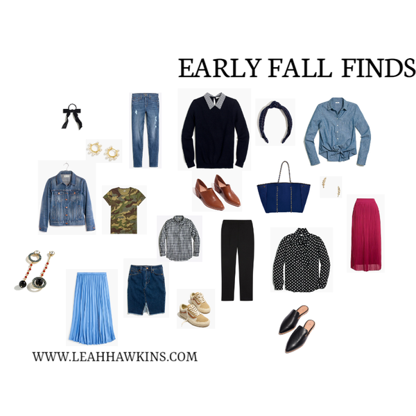 Early Fall Finds
