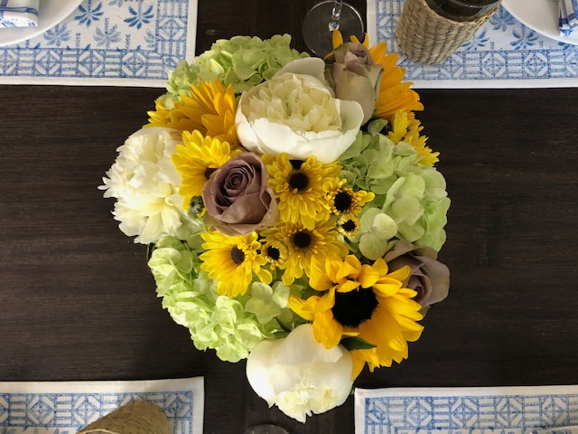 Sunny Summer Tablescape
