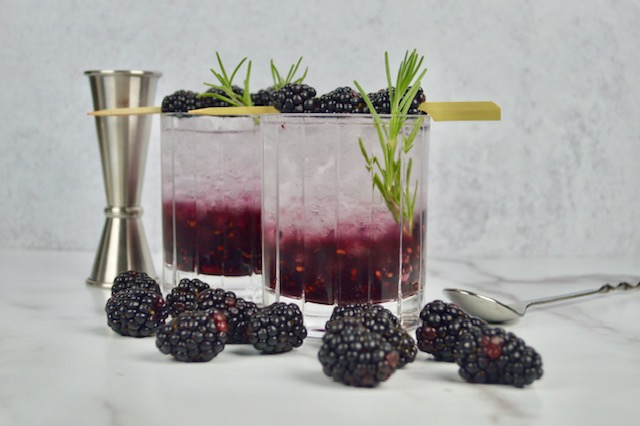 Rosemary Blackberry Bramble