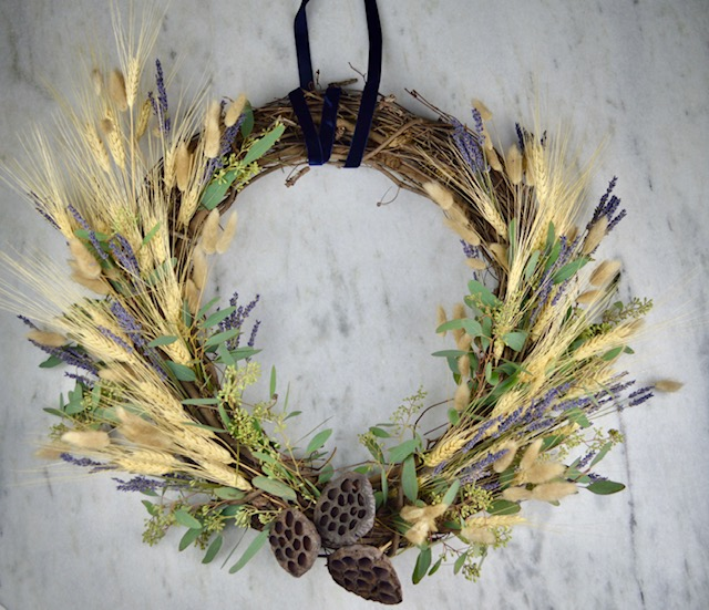 A Fragrant Fall Wreath