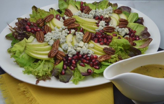 Pear and Pecan Harvest Salad